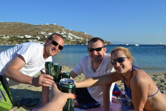Obviously this was one of our favorite activities in Mykonos
